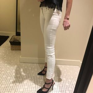 AG Low Rise Cigarette Ankle Jeans